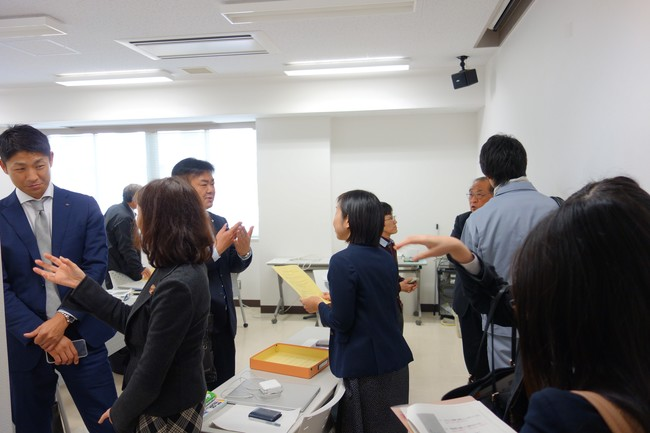 「留学生採用に向けた情報交換会」開催