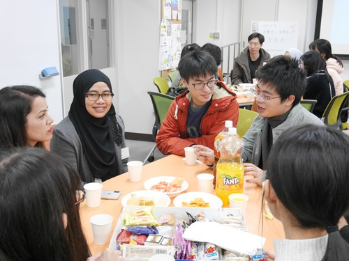 「卒業生と在学生の交流会」開催